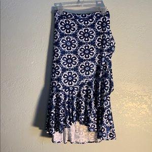 XL - LulaRoe Bella Wrap around Skirt